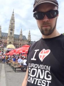 Eurovision Village framför rådhuset